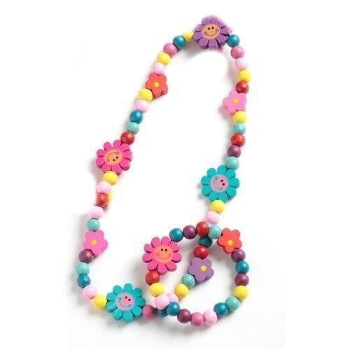 ensemble bracelet collier pour enfants perle achat vente bracelet gourmette ensemble. Black Bedroom Furniture Sets. Home Design Ideas