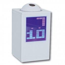 reveil projection heure blanc 110043 achat vente r 233 veil sans radio cdiscount