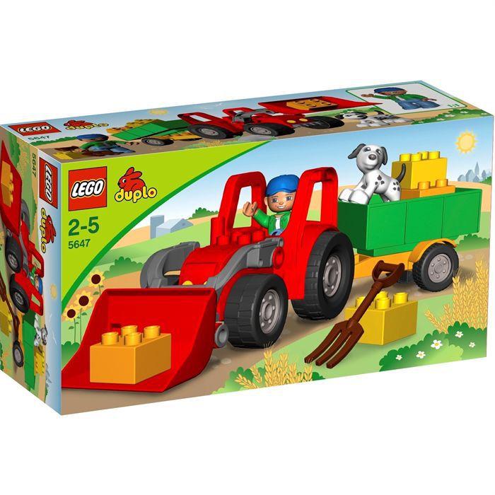 ASSEMBLAGE CONSTRUCTION Duplo Le Tracteur