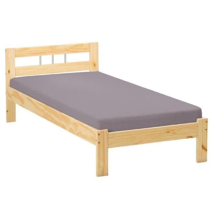 paris prix lit enfant 90x190cm angel naturel achat vente lit complet paris prix lit. Black Bedroom Furniture Sets. Home Design Ideas