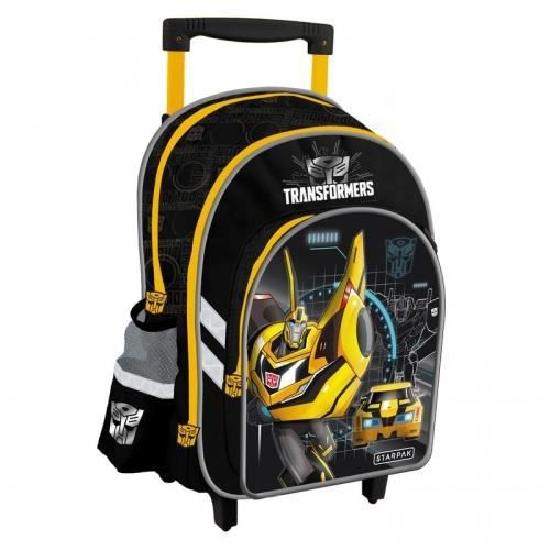 sac dos roulettes transformers trolley cartable sac d 39 cole gar on achat vente cartable. Black Bedroom Furniture Sets. Home Design Ideas