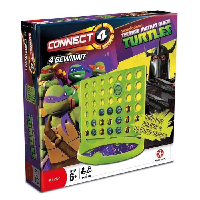 Les tortue ninjajeu de strat gie puissance 4 achat vente jeu soci t plateau les soldes - Les 4 tortues ninja ...
