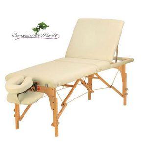 Table massage en bois achat vente table massage en - Table massage pliable ...