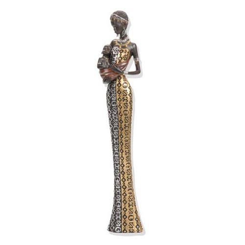 La  FEMME  dans  l' ART - Page 2 Statuette-femme-africaine-…