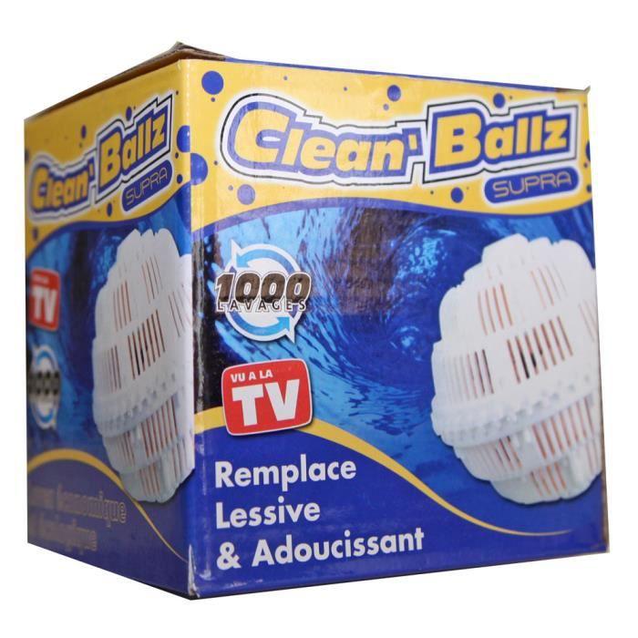 boule de lavage clean ballz machine laver economique ecologique vu tv neuf achat vente. Black Bedroom Furniture Sets. Home Design Ideas