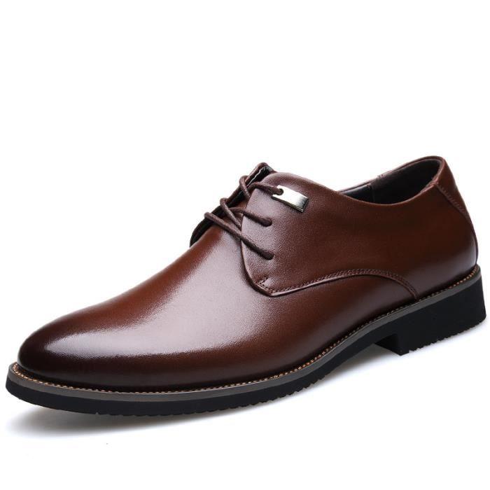 chaussures de ville homme cuir marron. Black Bedroom Furniture Sets. Home Design Ideas