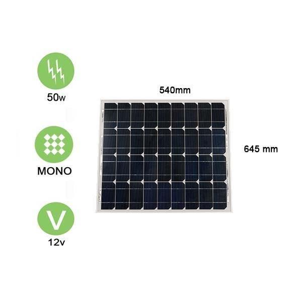 panneau solaire 50w 12v monocristallin victron energy achat vente kit photovoltaique. Black Bedroom Furniture Sets. Home Design Ideas
