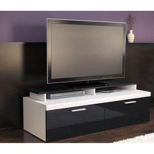 Meubles tv bois metal achat vente meubles tv bois - Meuble tv metallique ...