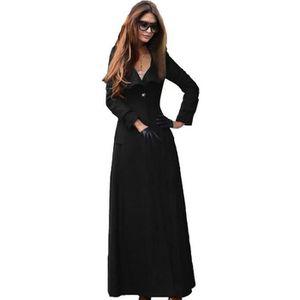 manteaux femme long achat vente manteaux femme long pas cher soldes cdiscount. Black Bedroom Furniture Sets. Home Design Ideas