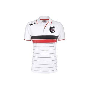 MAILLOT DE RUGBY Polo rugby adulte - Stade Toulousain - BLK