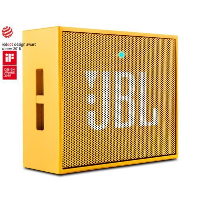 jbl go haut parleur ultra portable avec batterie rechargeable jaune enceintes bluetooth avis. Black Bedroom Furniture Sets. Home Design Ideas