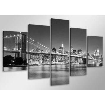 Tableau images sur toile 100 cm new york nr 6402 p achat for Tableau photo sur toile