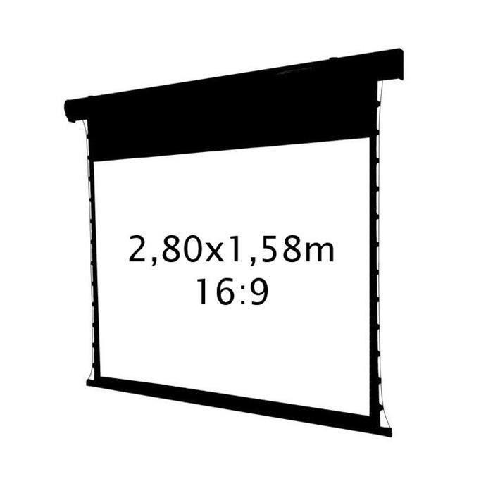 ecran projection lectrique tensionn 2 80x1 58m achat. Black Bedroom Furniture Sets. Home Design Ideas