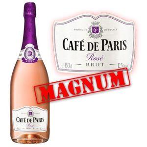 PÉTILLANT & MOUSSEUX Café de Paris Rosé  Magnum 1.5L