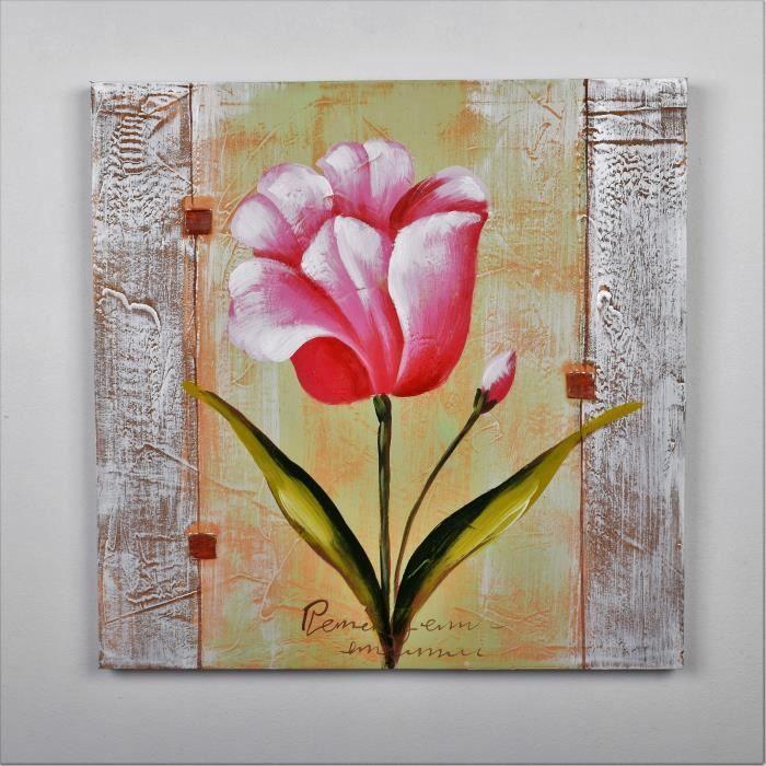 tableau peint main achat vente tableau peint main pas cher les soldes sur cdiscount. Black Bedroom Furniture Sets. Home Design Ideas