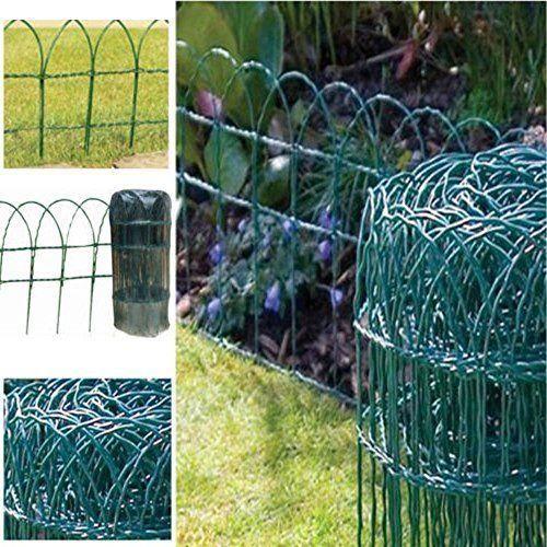 green blade bb cw130 grillage de cloture pour jardin en pvc vert 10 x 0 6 m achat vente. Black Bedroom Furniture Sets. Home Design Ideas