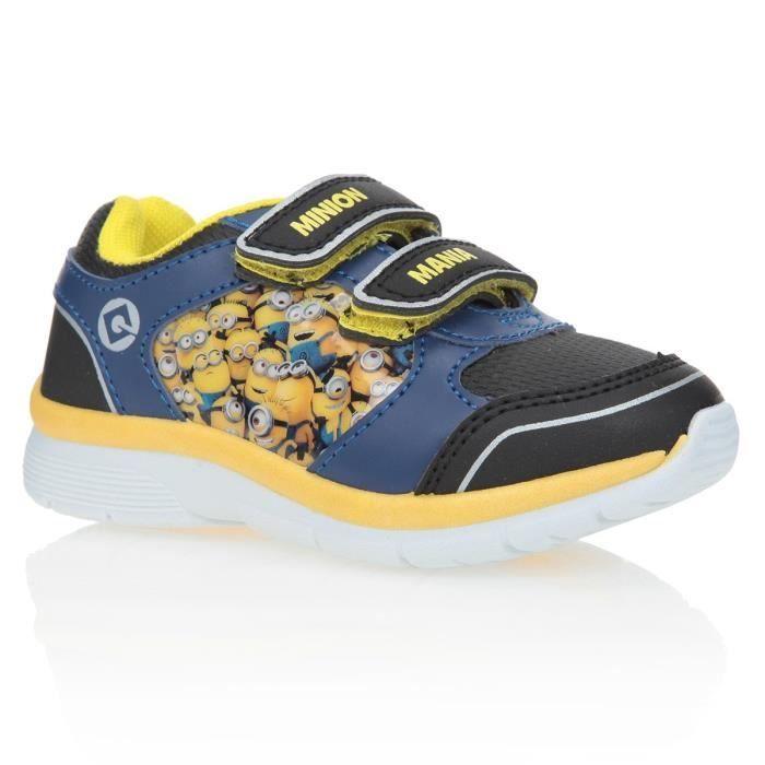BASKET LES MINIONS Baskets Chaussures Enfant Garçon