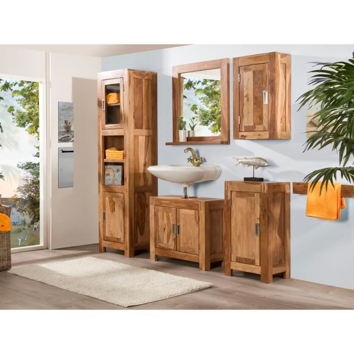 Ensemble de meubles de salle de bain torino 5 p achat - Meubles salle de bain cdiscount ...