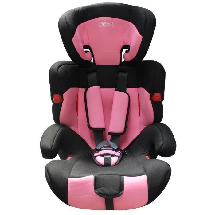 siege auto groupe 1 2 3 et ceinture isofix rose achat vente si ge auto r hausseur siege. Black Bedroom Furniture Sets. Home Design Ideas