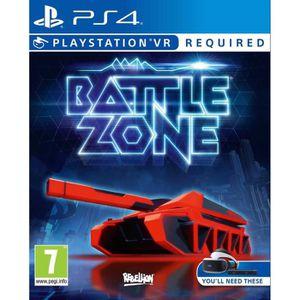 JEU PS VR Battlezone Jeu PlayStation VR