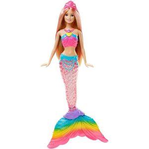 Poupee barbie sirene achat vente jeux et jouets pas chers - Barbie sirene couleur ...
