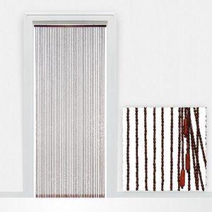 Rideau de porte store bambou achat vente rideau de for Rideau en plastique exterieur