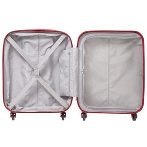 VALISE - BAGAGE Delsey - Valise cabine Helium air (1607803) rouge5