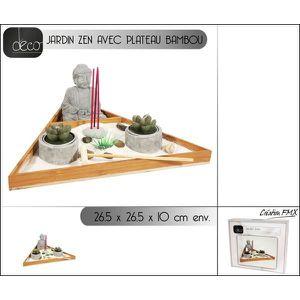 Plateau japonais achat vente plateau japonais pas cher for Jardin japonais zen avec galets et bougies