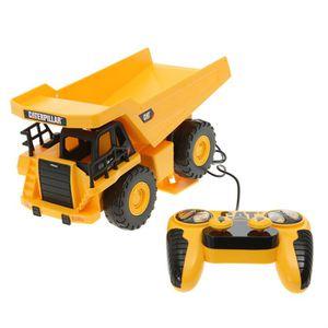 camion caterpillar telecommande achat vente jeux et jouets pas chers. Black Bedroom Furniture Sets. Home Design Ideas