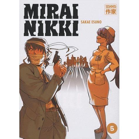 MANGA Mirai Nikki Tome 5
