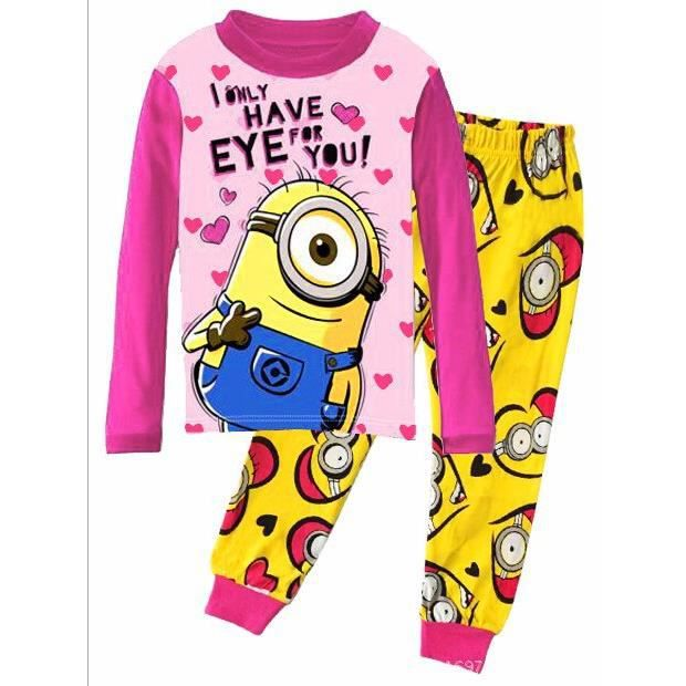 pyjama les minions 100 coton 3 ans achat vente pyjama chemise de nuit 2009921957651. Black Bedroom Furniture Sets. Home Design Ideas