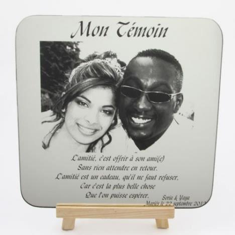 cadre mariage personnalis texte photos achat vente cadre photo cadeaux de no l cdiscount. Black Bedroom Furniture Sets. Home Design Ideas