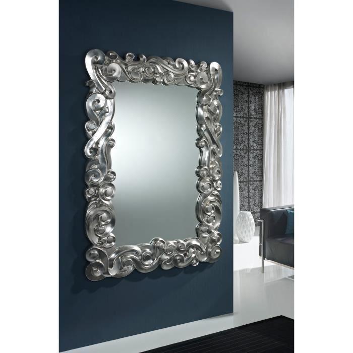 Miroir deco baroque achat vente miroir cdiscount for Encadrement tableau leroy merlin