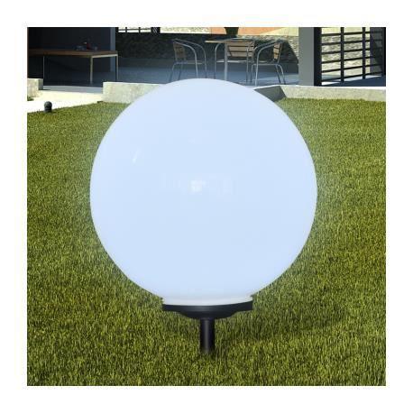 Boule solaire ext rieure 50cm 1 pi ce stylashop achat vente boule solaire ext rieure 50cm - Eclairage exterieur solaire boule ...