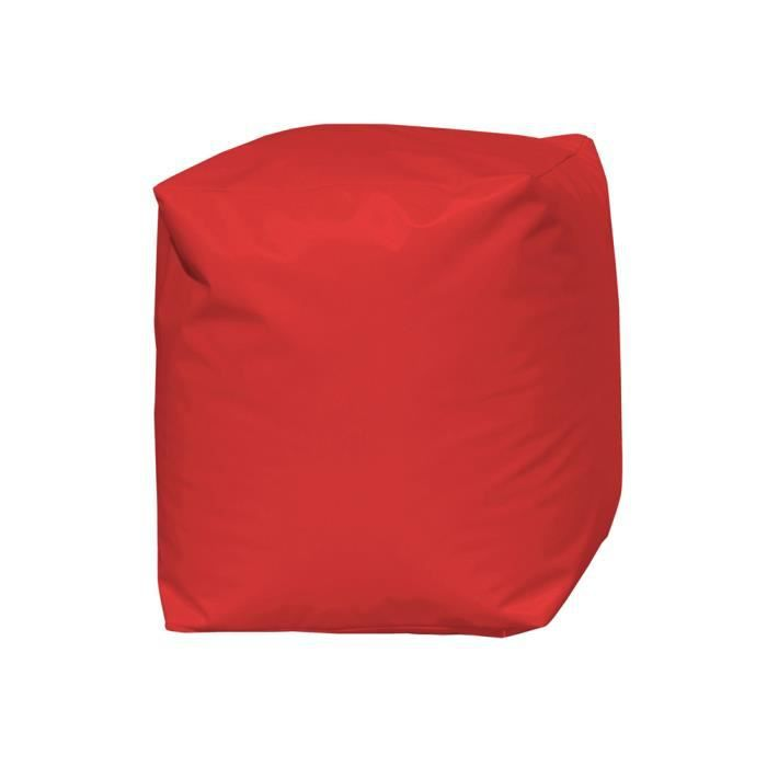 pouf cube achat vente pouf poire 100 polyester. Black Bedroom Furniture Sets. Home Design Ideas