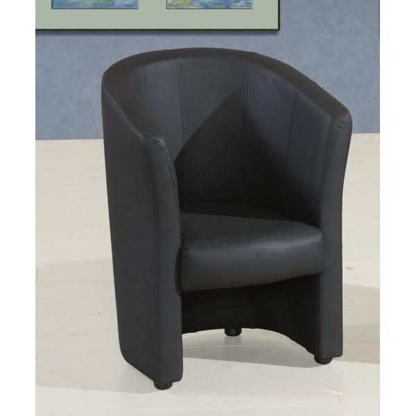 Fauteuil enfant coloris noir achat vente fauteuil mati re de la structure - Fauteuil enfant noir ...