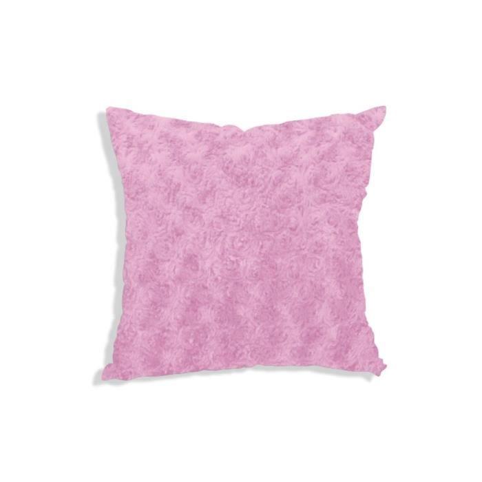 housse de coussin 60x60 cm alaska rose achat vente. Black Bedroom Furniture Sets. Home Design Ideas