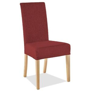 Housse pour chaise salle a manger achat vente housse for Housse chaise extensible pas cher