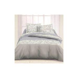 parure de lit flanelle en 160 achat vente parure de lit flanelle en 160 pas cher cdiscount. Black Bedroom Furniture Sets. Home Design Ideas