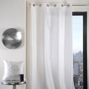 rideaux avec strass achat vente rideaux avec strass pas cher soldes cdiscount. Black Bedroom Furniture Sets. Home Design Ideas