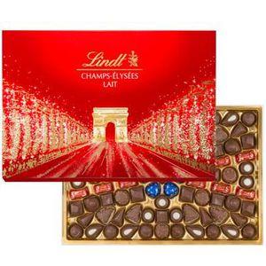 CONFISERIE DE CHOCOLAT chocolat de Noel Boîte Champs-Elysées