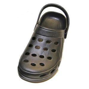 sabots sandale plastique enfants fille gar on m noir achat vente sabot cdiscount. Black Bedroom Furniture Sets. Home Design Ideas