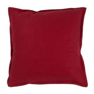coussin decoratif rouge. Black Bedroom Furniture Sets. Home Design Ideas