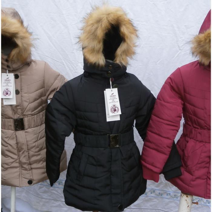 Doudoune manteau fille