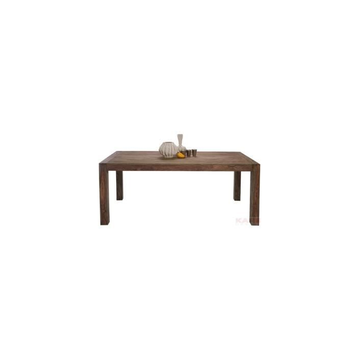 Table authentico 140x80 kare design achat vente table for Table 140 x 80 design