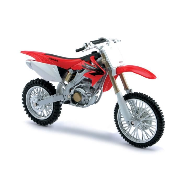 Modèle réduit : Moto Honda CRF450R : Echelle 1/18 - Achat / Vente voiture - camion - Cdiscount