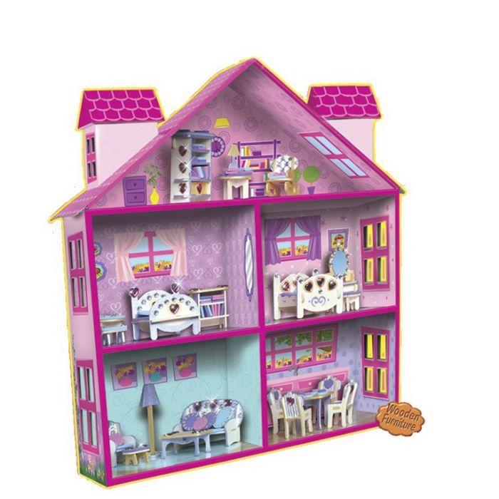 Ma maison de poup es achat vente support d corer ma for Decorer ma maison