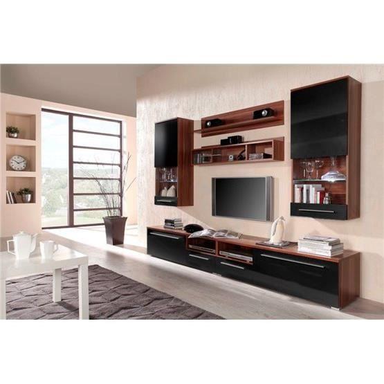 Meuble tv design park bordeaux et noir achat vente meuble tv meuble tv de - Meuble design bordeaux ...