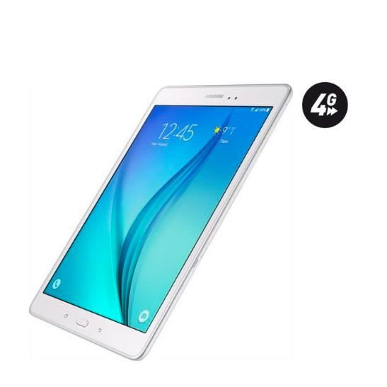 tablette tactile samsung galaxy tab a 16go 4g achat. Black Bedroom Furniture Sets. Home Design Ideas