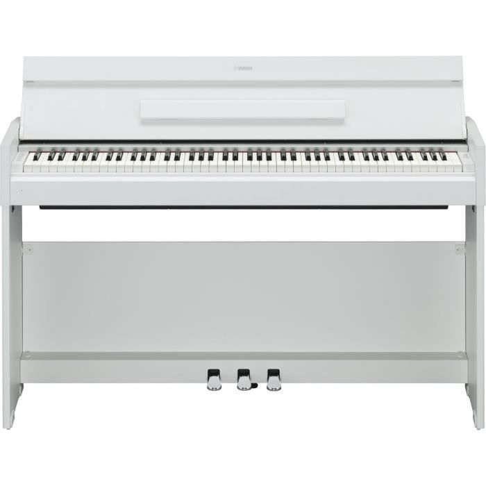 yamaha ydp s51 white pas cher achat vente piano. Black Bedroom Furniture Sets. Home Design Ideas